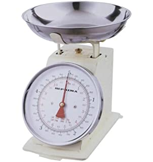 Cream 3kg Stainless Steel Analogue Retro Traditional Kitchen Weighing Scales  by Prima. Dualit Kitchen Scales in Stainless Steel 87006  Amazon co uk