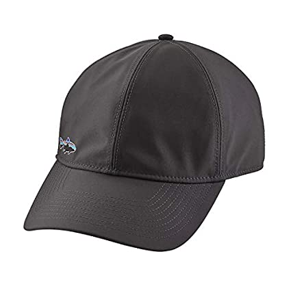 dfda5fa2774 Patagonia Men s Water-Resistant LoPro Trucker Cap Forge Grey One Size Hat   Amazon.co.uk  Clothing