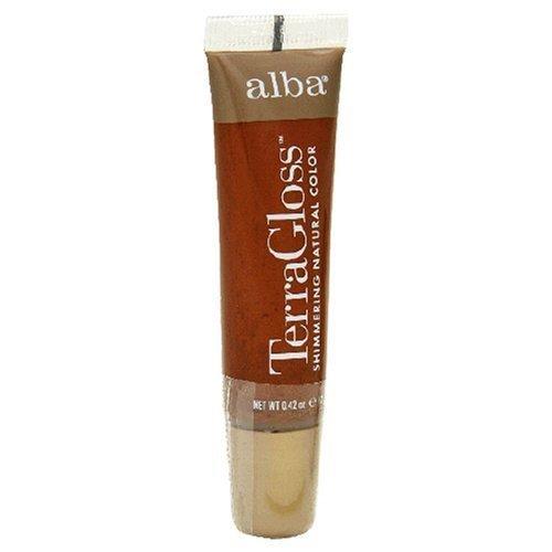 Alba Botanica Sienna Terra Gloss Tinted Lip Gloss, Sienna - 0.42 Oz, 12 Pack by Alba Botanica