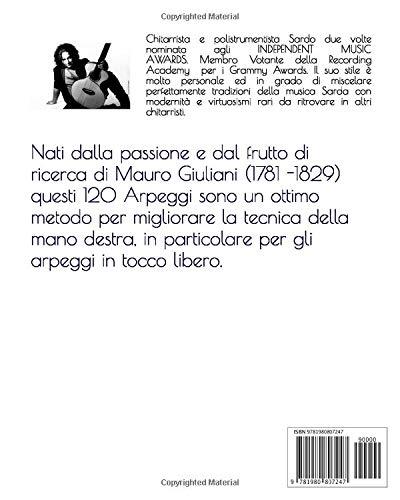Giulianis Arpeggios for Acoustic Guitar: Gli Arpeggi di Giuliani ...