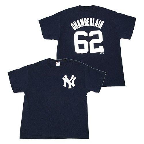 Joba Chamberlain Yankees Youth MLB Prostyle Player T-Shirt - Joba Chamberlain Player