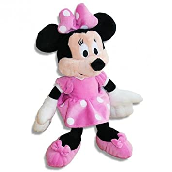 Minnie Mouse Figura | de Peluche | Minnie Mouse | Softwool | 28 cm