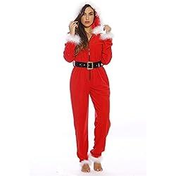 6256-L Just Love Adult Onesie / Pajamas, Santa Baby, Large
