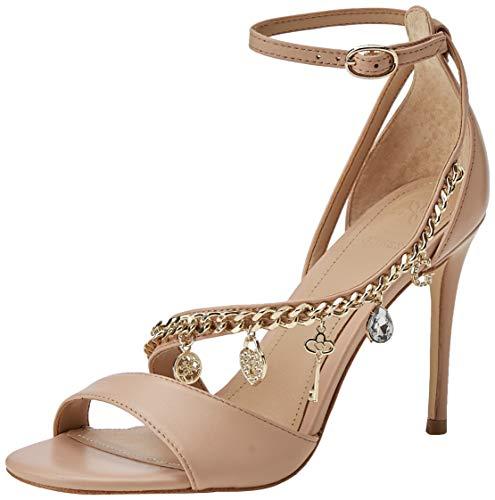 eb4fa2a921abcd Bride Cheville sandalo leather Escarpins Femme Natural Kayak sandal Beige  Guess Natu light qXYpUp