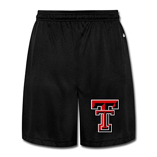Mens Texas Tech Red Raiders Football Shorts Men