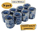 Ambro Professional Painters Tape Multi Surface Use (Blue) (CASE: 36 pack, 1 inch x 60 yds)