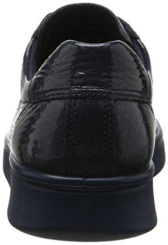 Ecco Damen Soft 4 Sneaker Blau (ombre)