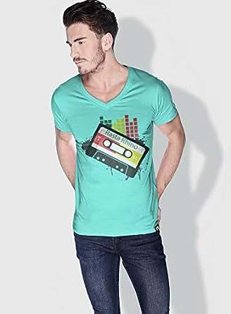 Creo Rasta Rhino Trendy T-Shirts For Men - S, Green
