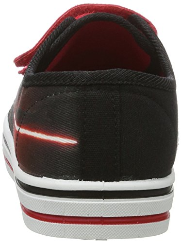 Star Wars Sw000623 - Zapatillas de casa Niños Schwarz (ruby red/Black 004)