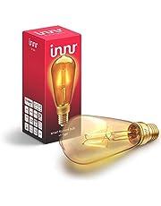 Innr RF 263 E27 Smart Filament ledlamp Vintage, 2200K Flame, dimbaar, compatibel met Echo Plus en Philips Hue*