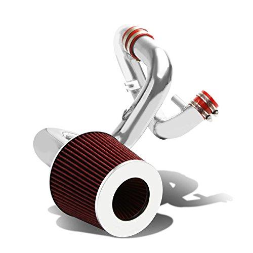 DNA Motoring CAIK-TSCXA04-RD Aluminum Cold Air Intake (Big Maf Short Ram Intake)