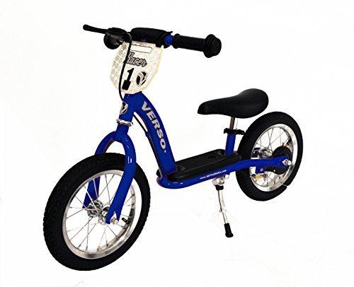 Kettler Steel Tricycle (Verso by Kettler Racer Balance Bike, Blue, 12.5-Inch)