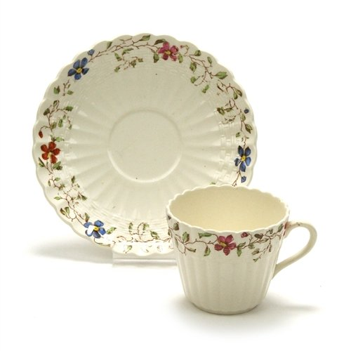 Wicker Dale by Spode, China Demitasse Cup & (Spode Wicker)