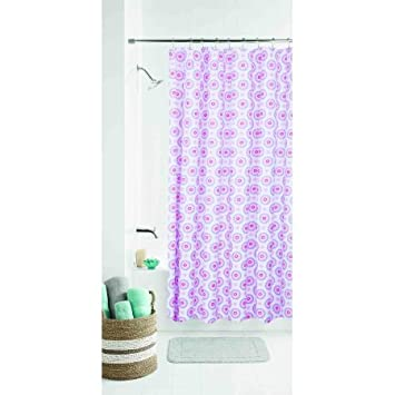 Amazon mainstays kids pink flower shower curtain home kitchen mainstays kids pink flower shower curtain mightylinksfo