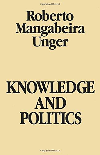 Knowledge and Politics [Roberto Unger] (Tapa Blanda)