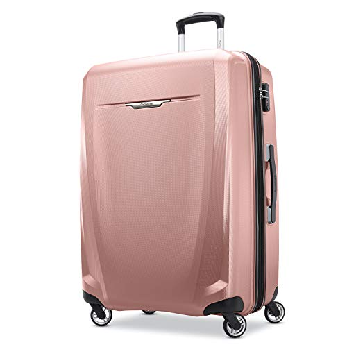 Samsonite Winfield 3 DLX Hardside Expandable Luggage with Spinners, Rose