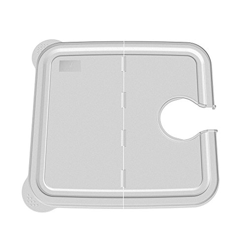 Large Product Image of EVERIE Hinged Collapsible Sous Vide Container Lid for Anova Culinary Precision Cookers, Fits 12,18,22 Quart Rubbermaid Container (Side Mount)
