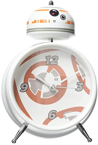 Paladone Star Wars BB 8 Alarm Clock with Sound, Multi, 16 x 10 x 6 cm