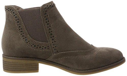 Rieker Damen X9763 Chelsea Boots, Beige (Fango), 41 EU