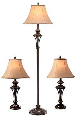 Normande Lighting qCOM-2648A-3PK Lamp, qBronze