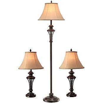 Normande Lighting QCOM 2648A 3PK Lamp QBronze