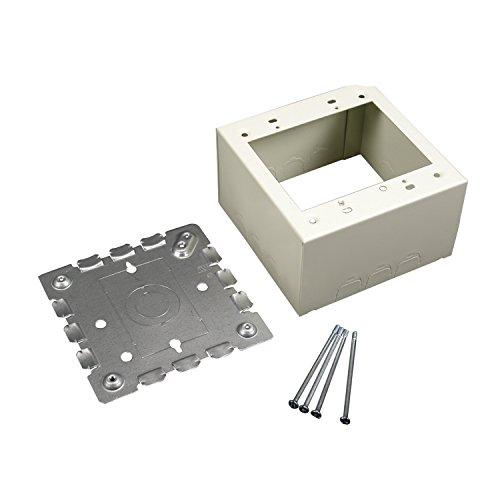 Legrand - Wiremold V5744S-2 2-Gang Deep Device Box