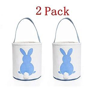 Beschoice Easter Basket Easter Bunny Bag for Kids Easter...