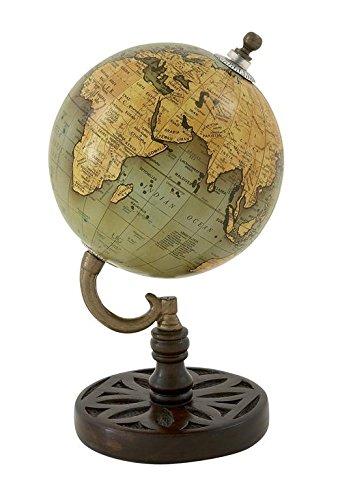 Decorative World Globe (Deco 79 Wood Metal PVC Globe 5