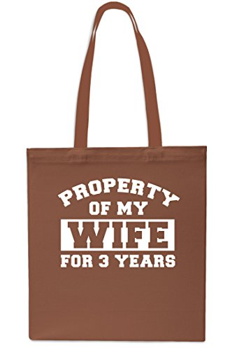 Property 3 Chestnut Years Wife Small My Bag of Shopping litrest 42cm Red Beach Gym Tote 10 for x38cm gUrxgBqw