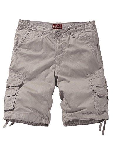 (Match Men's Comfort Cargo Short (Label Size L/32 (US 30), 3058 Apricot))