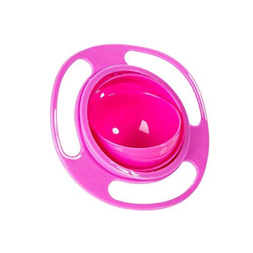 Generic Creative Baby Feeding Bowl Toy 360 Rotate Funny U...