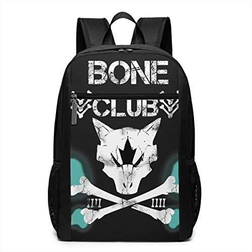 COLSHOORTS Fashion Backpack Bag Po-ke-mon - Alolan Marowak Fire Skull X Bullet Club Multi-Purpose School Laptop Backpack Fit Teens Boys Shoulder Bag Bento Bags