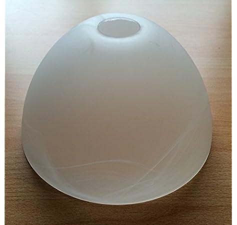 cristal de repuesto l/ámpara de lectura Pantalla de l/ámpara de luz de lectura E14 color alabastro