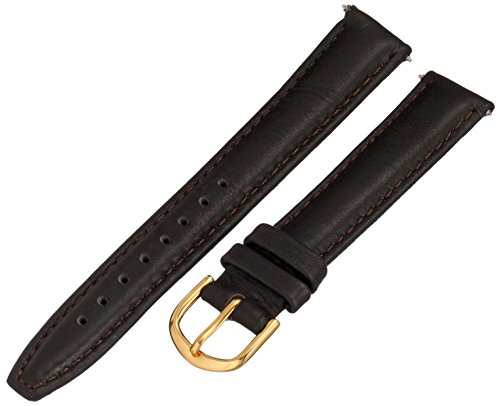 Voguestrap TX39916BN Allstrap 16mm Leather Calfskin Brown Watch Strap