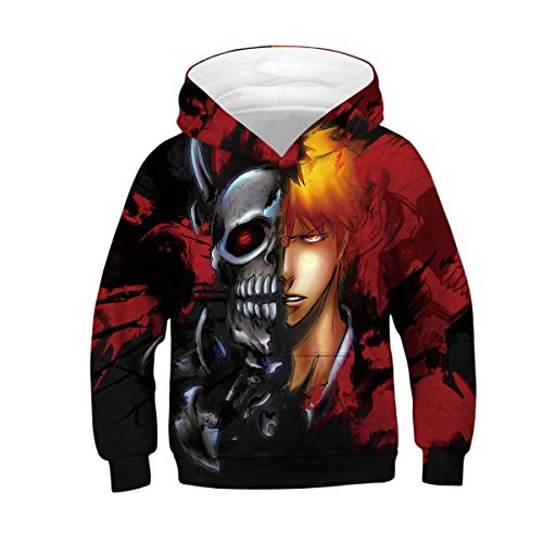 Bleach Skull Sweat shirt Amoma Femme xPq87Z0wqz