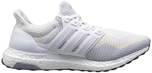 Adidas Prestaties Van Vrouwen Ultra Boost Loopschoen Wit / Helder Grijs / Zwart