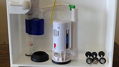 "Smarter Flush SF0300A Complete Dual Flush Kit, 3"""