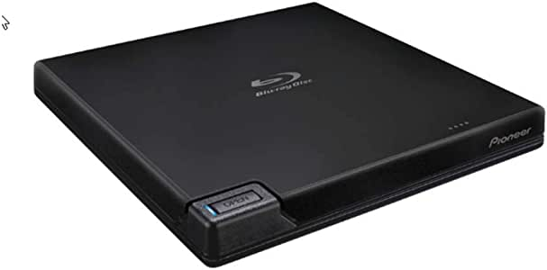Pioneer BDR-XD07UHD USB 3.0 Slim Portable BD/DVD/CD Burner