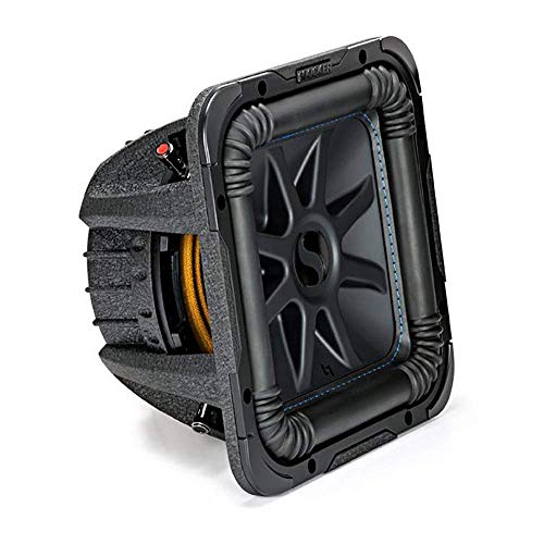 "Kicker Solo-Baric L7S 1500W 12"" 2 Ohm DVC Sealed or Ported Square Subwoofer"