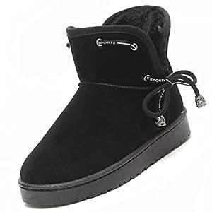 Amazon.com: HSXZ Women's Shoes PU Winter Fall Comfort Snow