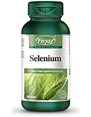 VORST Selenium 200mcg 90 Capsules | Antioxidant Supplement for Thyroid Health , Immune System , Mental Health , & Cardiovascular Health to Help Reduce Asthma Related Symptoms and more | 1 Bottle