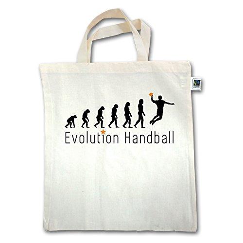 Evolution - Handball Evolution Sprungwurf - Unisize - Natural - XT500 - Jutebeutel kurzer Henkel