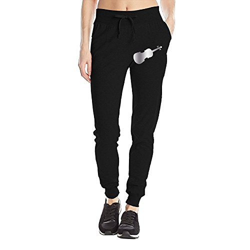 Cello Music Platinum Style Personalized Sweatpants For Women Sweatpants Casual Pants Tighten Ankle Large (Personalized Sweatpants)