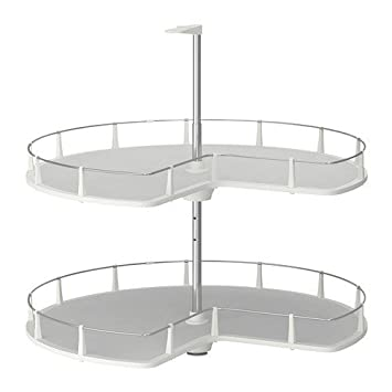 Ikea Küche Eckschrank | Ikea Utrusta Eckunterschrank Karussell 88cm Amazon De Kuche