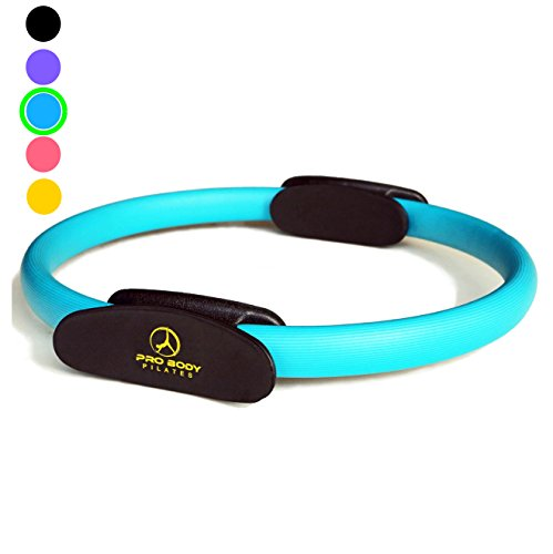 - Pilates Ring - Superior Unbreakable Fitness Magic Circle for Toning Thighs, Abs and Legs (Blue)