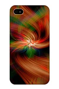 Iphone 4/4s Case - Tpu Case Protective For Iphone 4/4s- Abstract Colors Case For Thanksgiving's Gift