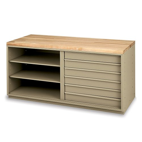 """EDSAL CBI2004T Drawer Inserts for Modular Workbenches for 60"""" Cabinet"""