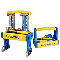 Deals on BFULL Kids Tool Set ,70PCS Deluxe Toy Workbench Set