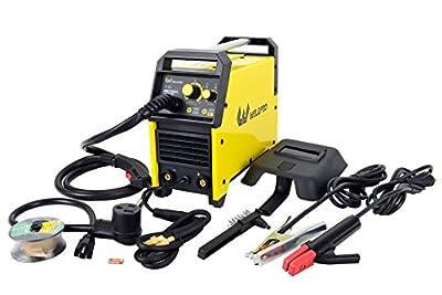 155 Amp Inverter MIG/Stick Welder with Dual Voltage