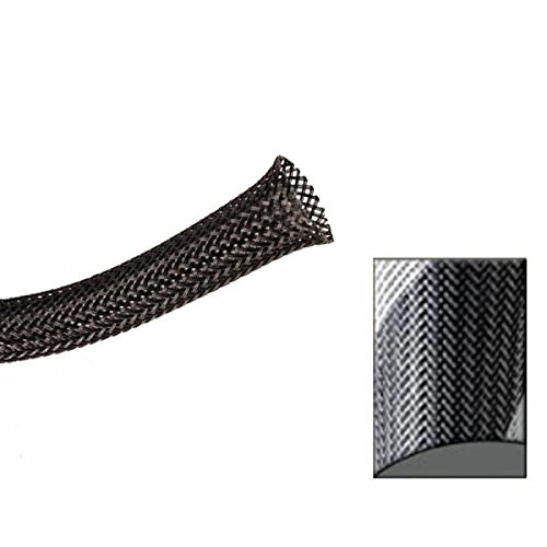 10 Feet Keep It Clean 14044 Wire Loom 3//8 Black and Gold Thin Strip Ultra Wrap Wire Loom
